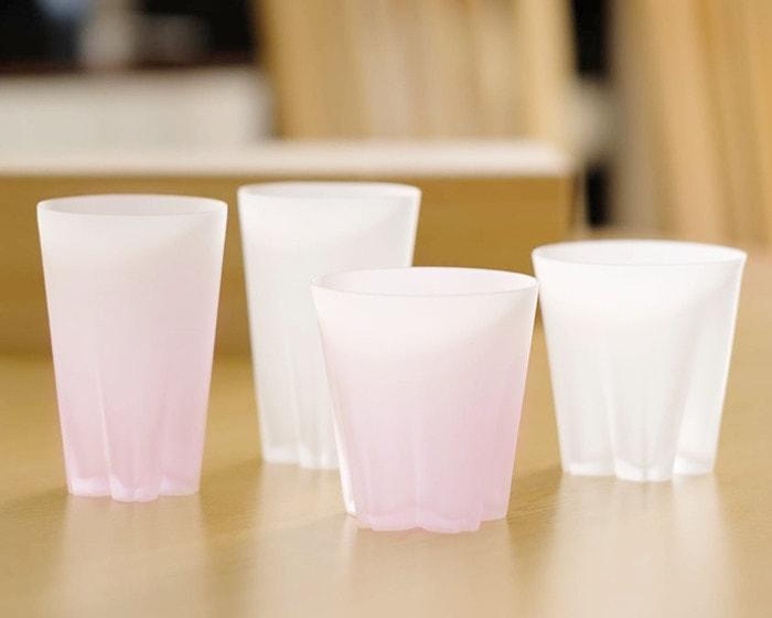 サクラサクグラスの色味比較
