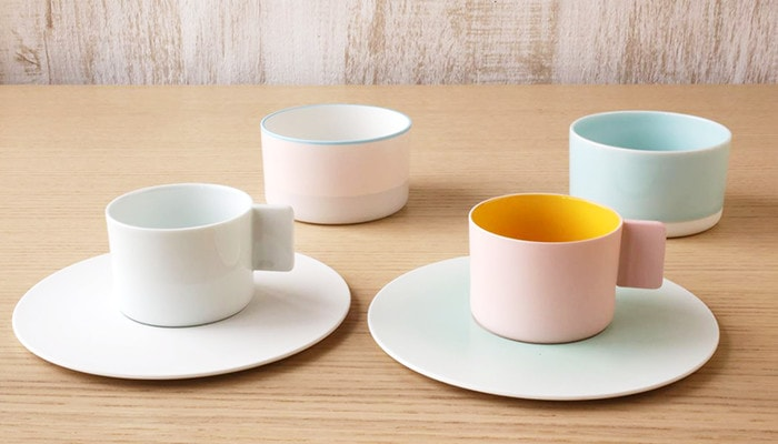 S&B series cups and saucers, teacups