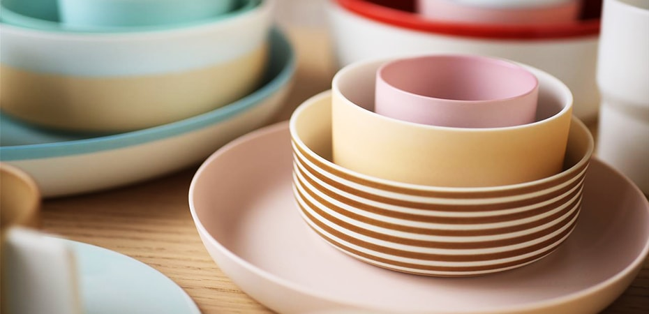 Colour porcelain series Arita ware