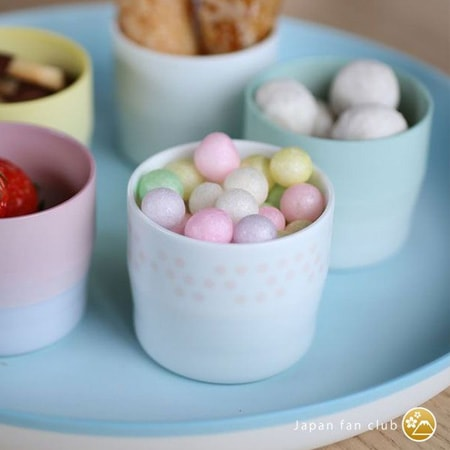 cute sweets time with Arita porcelain cup