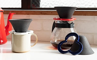 Paper-free coffee pour over cone