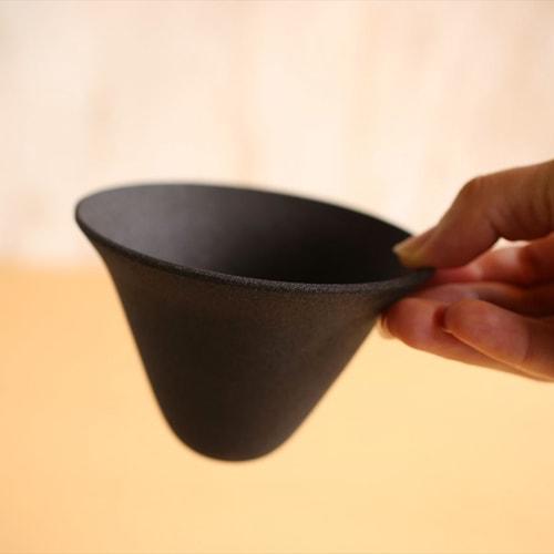 thin ceramic coffee filter