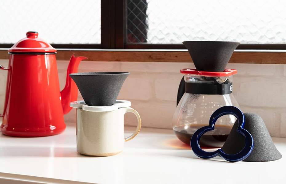 ceramic coffee pour over cone