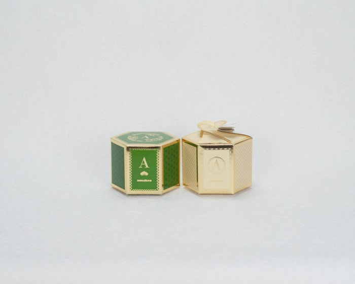 Green box for CHOKU series and Cream box for ERI series