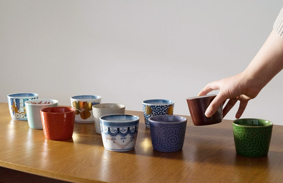 Arita soba cups from amabro