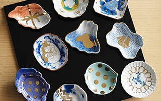 Small world of Japanese dinner plates MAME