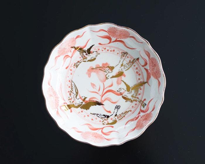 amabroの中鉢NAMASU(なます皿)のチューリップ文輪花