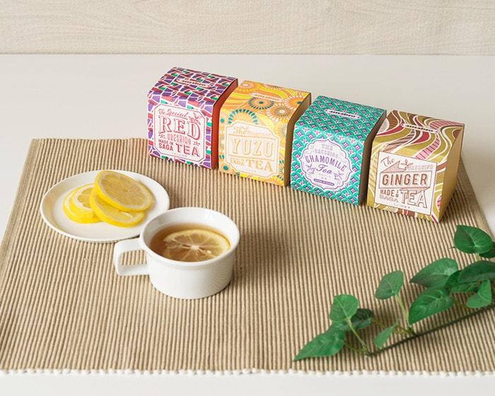 レモンティーとうれしの紅茶4種