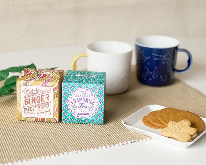 うれしの紅茶とセラミックジャパンの星座マグ
