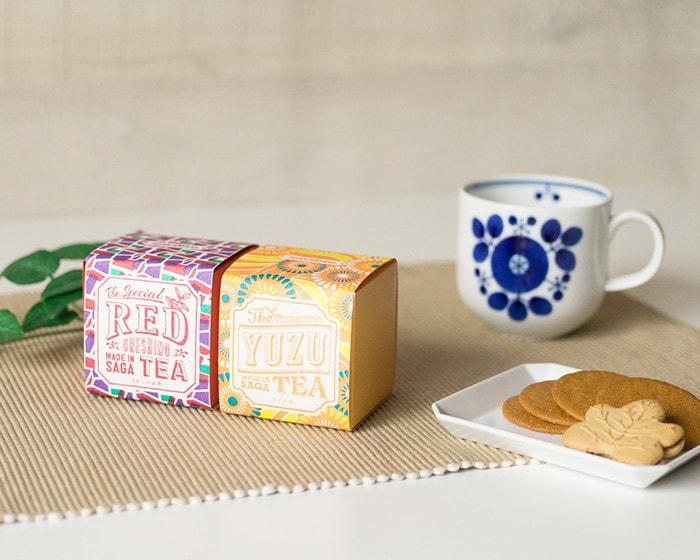 うれしの紅茶と白山陶器のブルームマグ