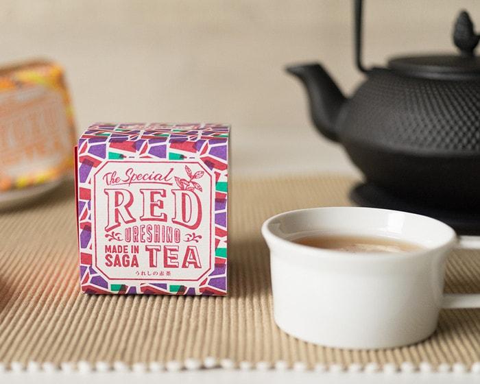 うれしの紅茶REDのボックス
