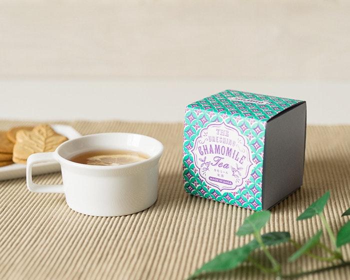 うれしの紅茶CHAMOMILEのボックス