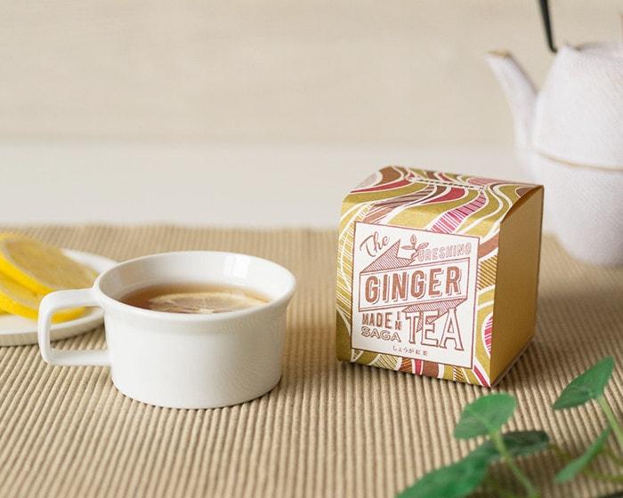 うれしの紅茶GINGERのボックス