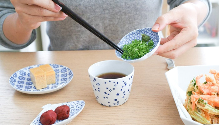 Japanese tableware of Azmaya