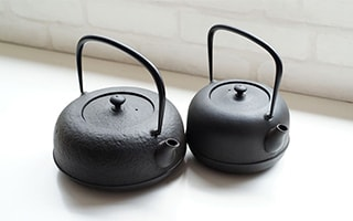 Grow your own cast iron teapot, Nanbu tetsubin