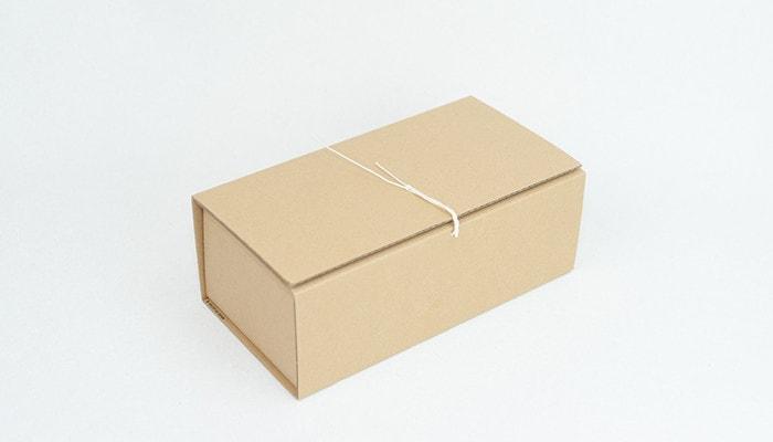 東屋の木製ティッシュケースの専用のクラフトボックス