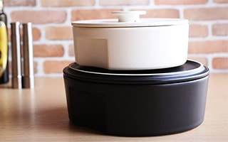"Stylish donabe pot ""do-nabe"" from ceramic japan"