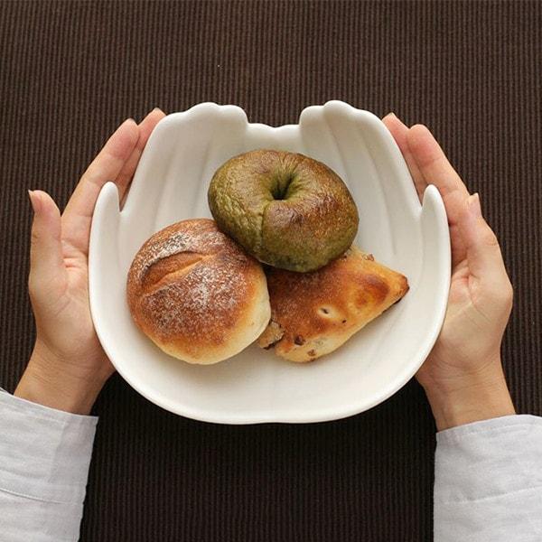 Lサイズのボウルはパンが3~4個入る大きさ