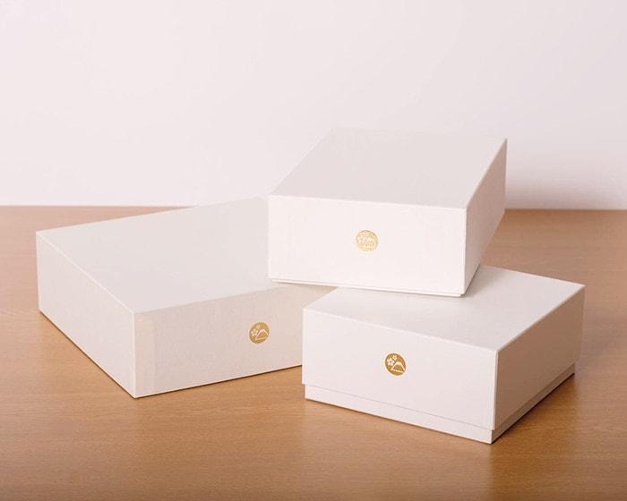日本デザインストアオリジナルのギフトボックス
