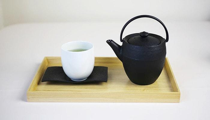 Teapot round barrel Maruzutsu teapot