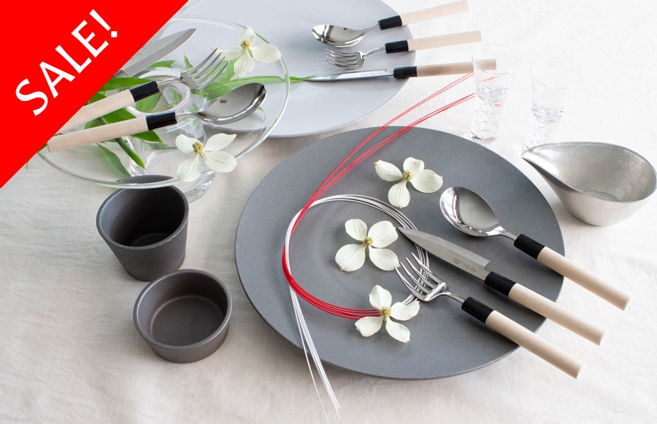 Japanese cutlery set from Pal Design Studio