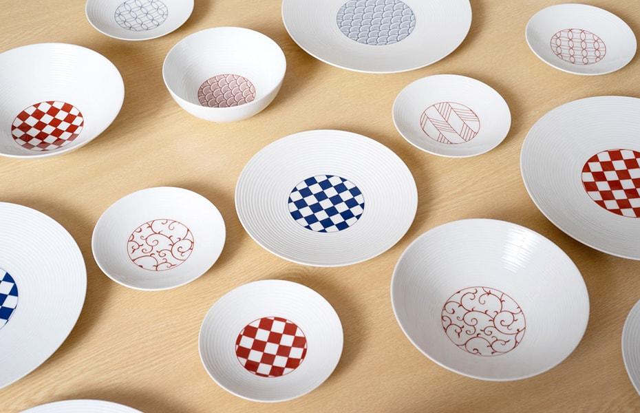 永峰製磁の和モダンシリーズ 波佐見焼のおしゃれな食器