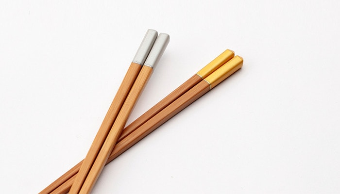 2 pairs of Bamboo arrow chopsticks