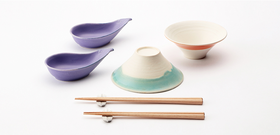 FUJIWAN, Japanese Fujiyama rice bowl