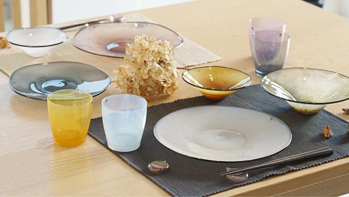 frescoの食器を使ったテーブルコーディネート