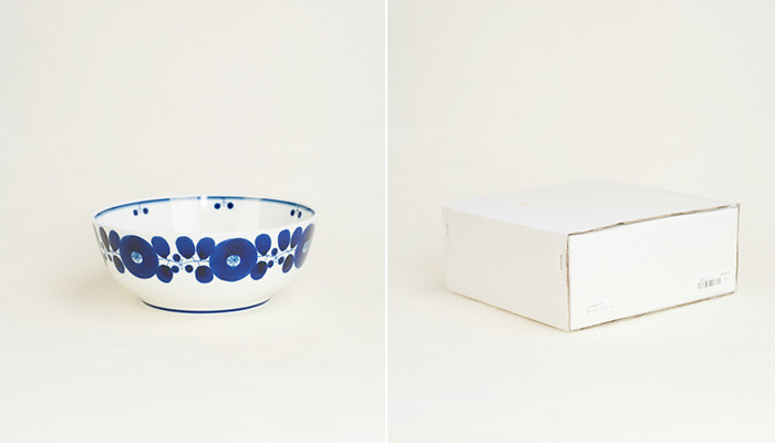 Bowl L of Bloom series and white kraft box