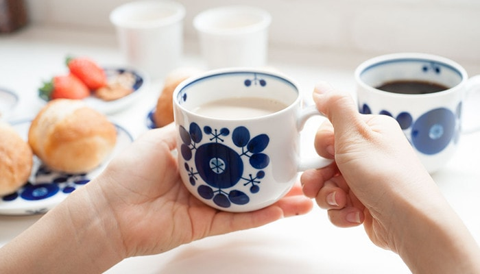 Bouquet mug of Bloom series from Hakusan Toki
