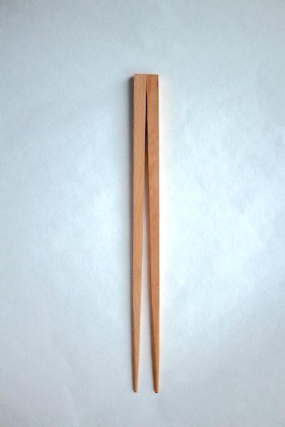 箸蔵マツ勘手作り箸キットの箸の全体