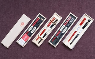 Authentic Japanese chopsticks from Wajima