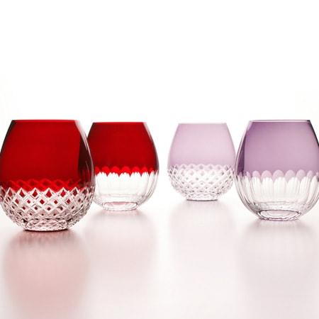 廣田硝子さんのモダンなグラス