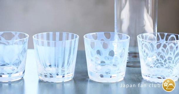 日本の伝統工芸品 大正浪漫硝子
