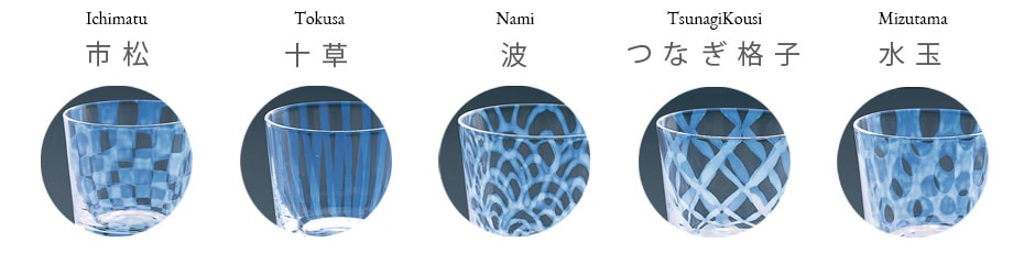 List of Taisho Roman glass