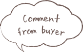 Comment from buyer