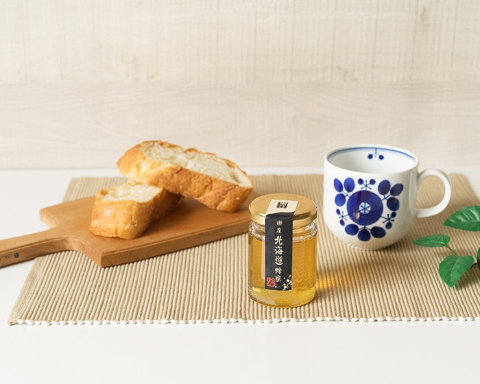 国産北海道はちみつとパン