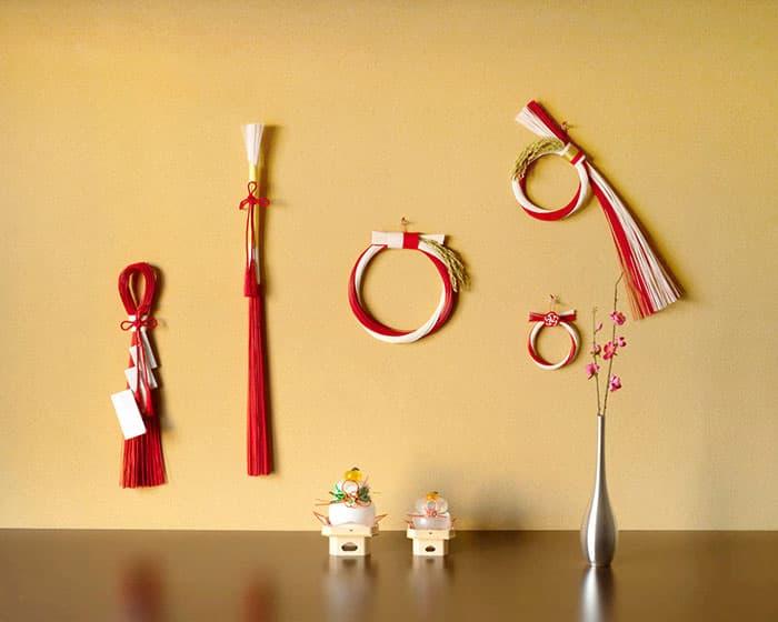 日本デザインストアのお正月飾り