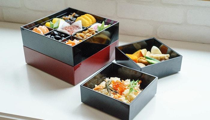 Jubako box with Osechi