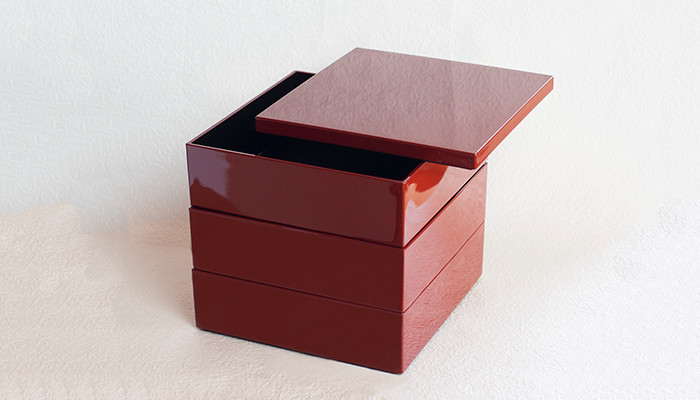 Jubako box Carmine from Japan Design Store