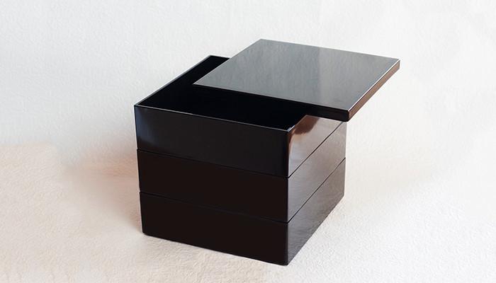 Jubako box Jet Black from Japan Design Store