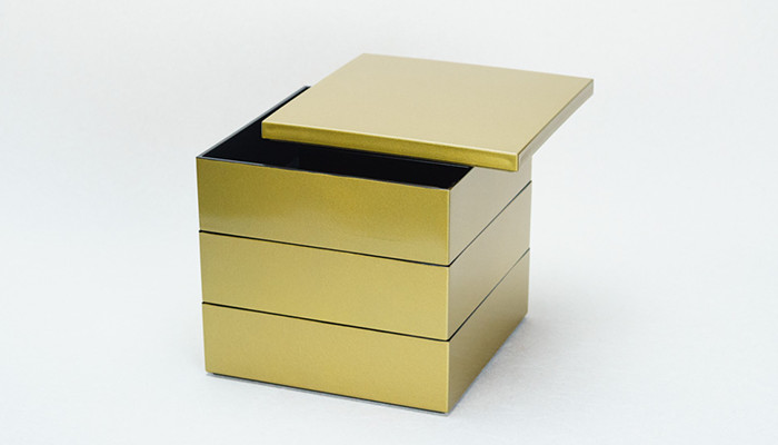 Jubako box Gold from Japan Design Store
