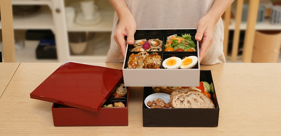 Japanese Jubako box for Osechi from Japan Design Store