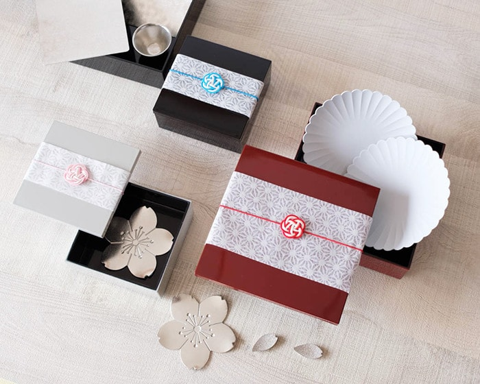 Various Japanese gift box sets our buyer selects