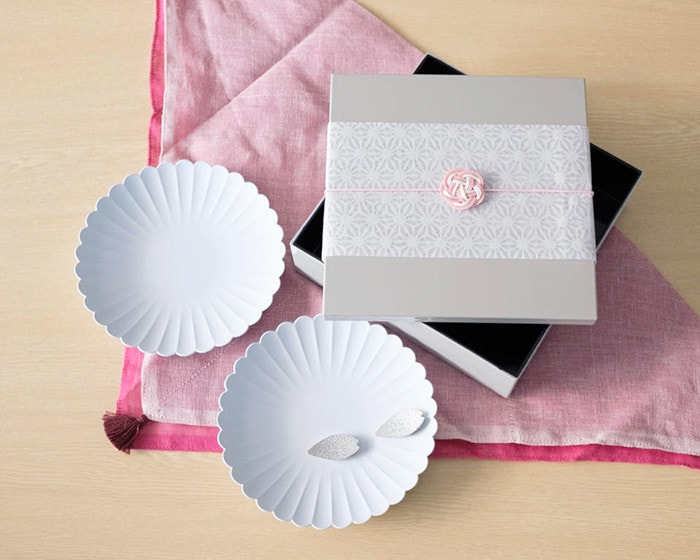 Hanami dinner pair of Japanese gift box set