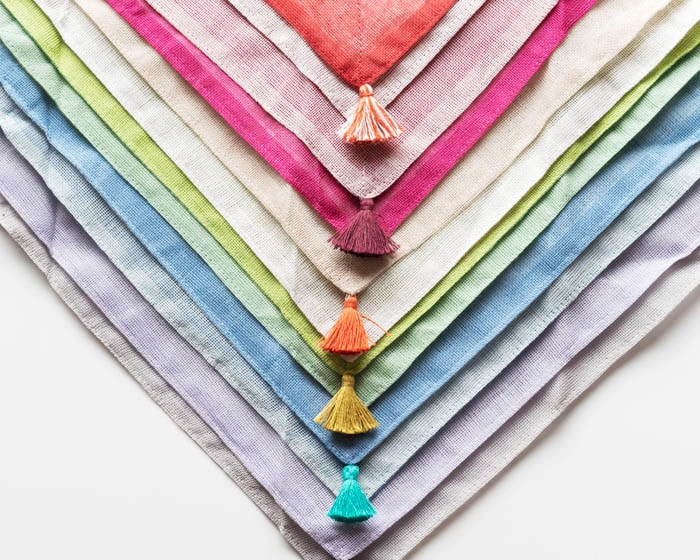 Beautiful tassels of dish cloths