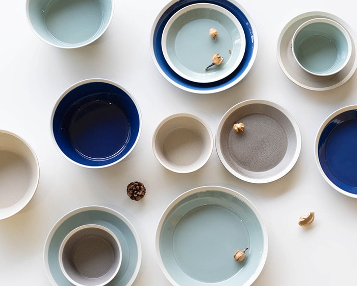 Look down dishes by yumiko iihoshi porcelain