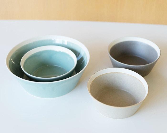 Bowls in dishes series by yumiko iihoshi porcelain × Kimura glass