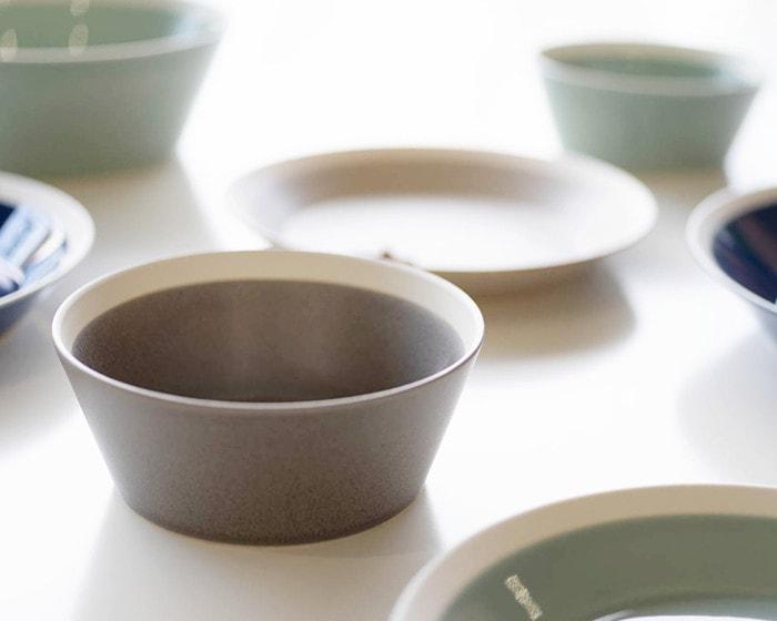 Bowl S in dishes series by yumiko iihoshi porcelain × Kimura glass